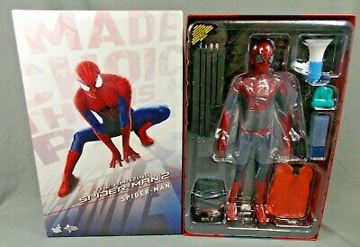 Hot Toys Asm2 Spider-man 1:6 Scale Action Figure Sideshow Collectibles Mms244 • 335.99$