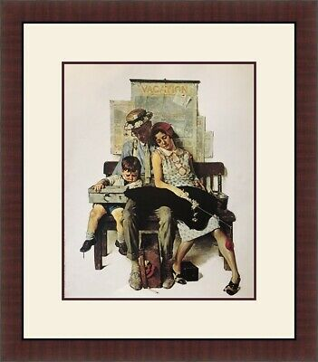 $ CDN60 • Buy Norman Rockwell - Home From Vacation Custom Framed Print FREE SHIP