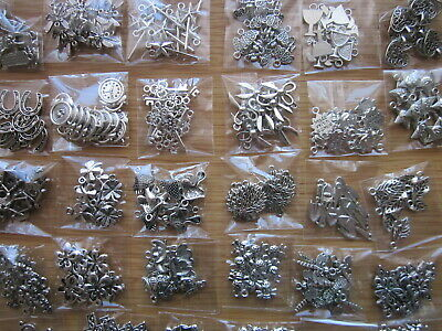 £5.99 • Buy Job Lot -100 Mixed Tibetan Silver Charms +10 FREE Owl Charms -Clearance