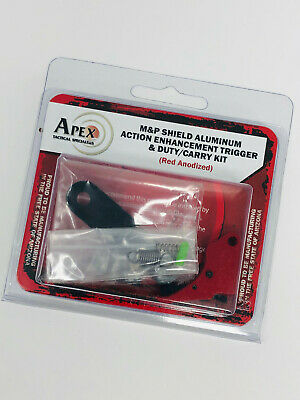 $155.95 • Buy Apex Tactical 100-056 Red Action Enhancement  Kit For S&W M&P Shield