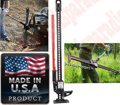 $127.49 • Buy STEEL High Lift Chain Jack All Purpose Mechanical Fence Post Puller Winch Clamp