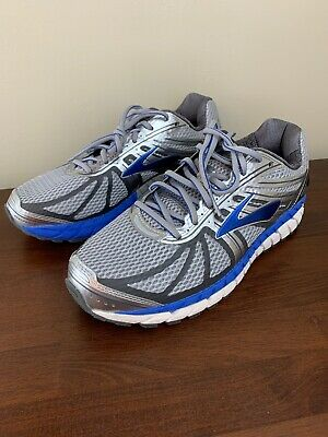37ea3a7da97b6 Brooks Beast 16 Mens Running Shoes Sneakers Gray Blue Size 8 Extra Wide 4E  • 90.00