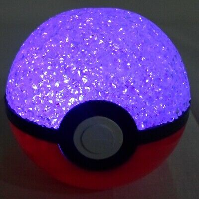 Pokemon Poke-ball 3.5'' Clear Plastic Light Up Function • 7.16£
