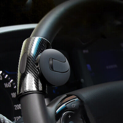 Black Car Steering Wheel Turning Knob Auxiliary Catcher Ball Accessories • 7.09£