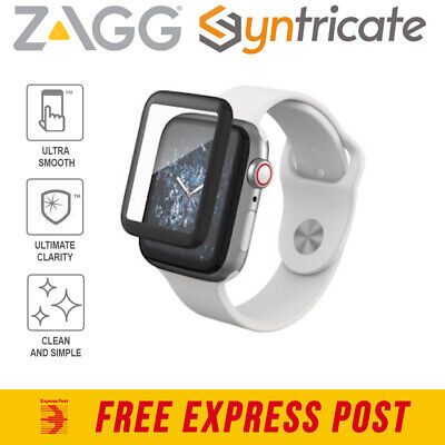 AU44.95 • Buy Zagg Invisibleshield Glass Curve Elite Screen For Apple Watch 44mm (se/6/5/4)