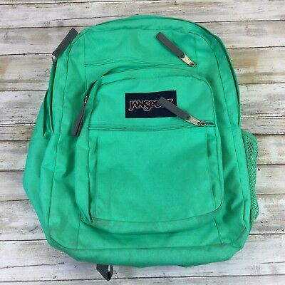 e0fc6821e2d1 JANSPORT ~ BACKPACK BOOK BAG ~ TEAL SCHOOL ~17 X 11 • 13.76