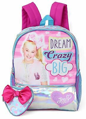 AU54.95 • Buy JoJo Siwa Licensed Dream Crazy Big 40cm Backpack