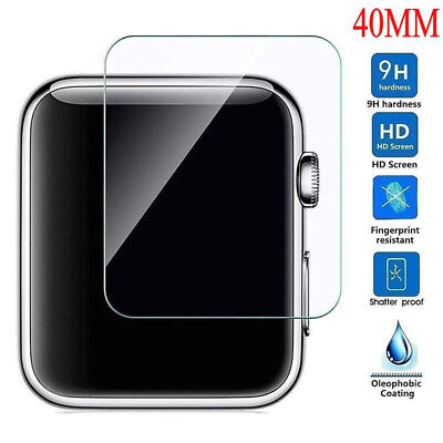 $ CDN0.99 • Buy For Apple Watch Series 4 3 2 40/44mm TEMPERED GLASS Screen Protector CA