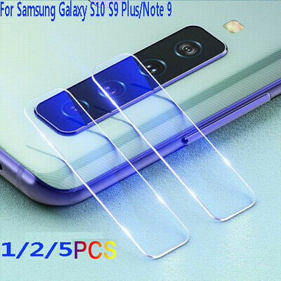 $ CDN4.49 • Buy For Samsung Galaxy S10 S9 Plus/Note 9 Camera Lens Protector Glass Screen Cover ^
