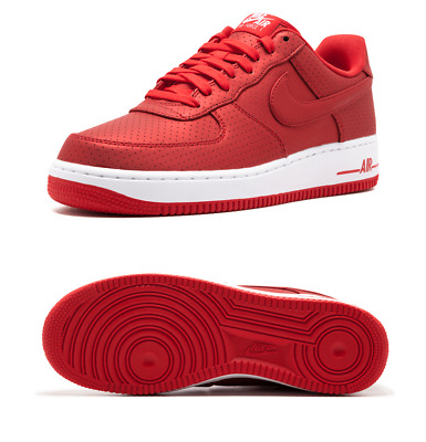 zapatillas air force 1 rojas