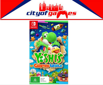 AU74.95 • Buy Yoshi's Crafted World Switch New In Stock