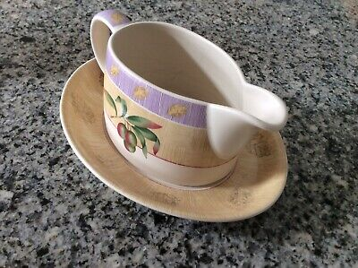 MARKS AND SPENCER WILD FRUITS GRAVY Or SAUCE Or CREAM BOAT / JUG And SAUCER  • 7.99£