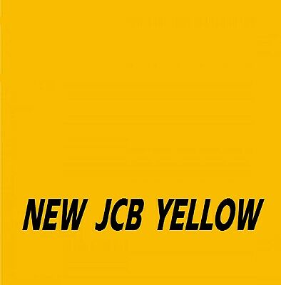 £21.95 • Buy JCB NEW INDUSTRIAL YELLOW Agricultural Tractor Machinery Enamel Gloss Paint