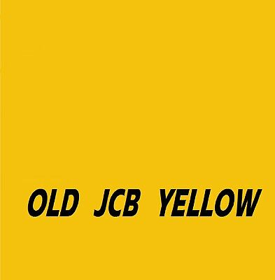 £21.95 • Buy JCB OLD YELLOW Agricultural Tractor Machinery Construction Enamel Gloss Paint