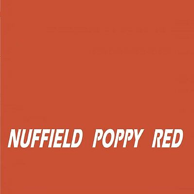 £16.45 • Buy NUFFIELD POPPY RED  Agricultural Tractor Machinery Enamel Gloss Paint