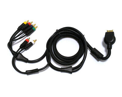 Cable Av Component HD Audio Video Rca Composite PS3 PS2 PS1 PLAYSTATION Console • 6.27£