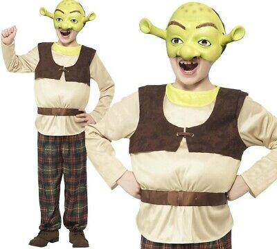 £23.99 • Buy Childs Shrek Fancy Dress Costume Official Licensed Childrens Outfit By Smiffys