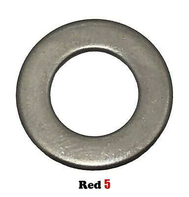 AU5.50 • Buy M8 (8mm) Flat Standard Washer (17.0mm X 1.2mm) - Stainless Steel G304