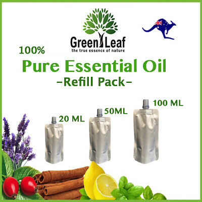 AU18 • Buy Essential Oils 100% PURE-Natural Carrier Oils Aromatherapy Aroma Oil Refill-Pack