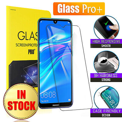 AU4.85 • Buy 2x Huawei Y7 Pro 2019 Tempered Glass LCD Screen Protector Film Guard