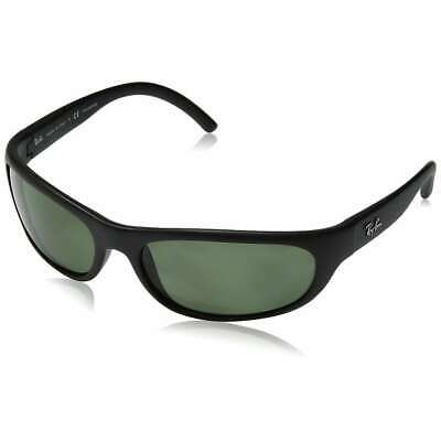 f3f66d6297 Ray-Ban RB4033 601S48 Predator Black Frame Polarized Green 60mm Lens  Sunglasses • 81.00