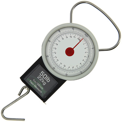 £6.95 • Buy Fishing Weighing Scales 22kg / 50lb Carp Coarse Fishing Angling Pursuits
