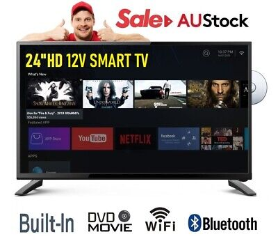 AU499.95 • Buy Englaon 24M50 24'' Full HD LED SMART TV HD Tuner & PVR12V With Built-in Soundbar