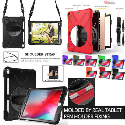 AU33.37 • Buy For Apple IPad Pro 10.5 Case Stand Strap Cover Shockproof WITH Pencil Holder