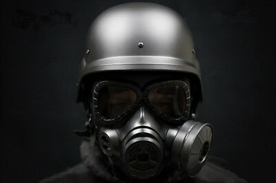 $79.99 • Buy Airsoft Swat M88 Helmet / Argame Protection DUMMY M04 Gas Mask / Face Mask/