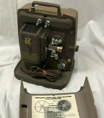 $ CDN53.19 • Buy Vintage Keystone 100G 8mm Film Projector Tested, Clean Very Nice Condition