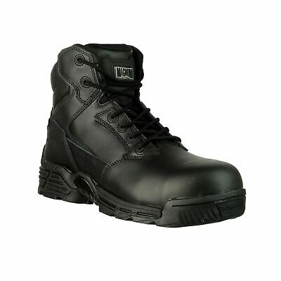 $133.41 • Buy Magnum Stealth Force 6  CT/CP (37422) Black Metal Free Safety Leather S3