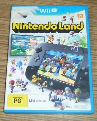 AU8.99 • Buy Nintendo Wii-U Game - Nintendo Land