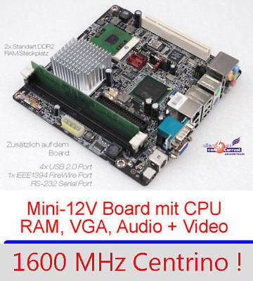 £37.63 • Buy MOTHERBOARD AOPEN I915GMt-FS VGA SVGA-OUT 1,6GHZ INTEL CPU 1000MB RAM SOUND