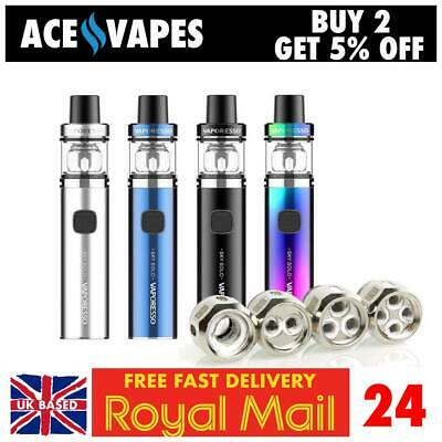 £8.97 • Buy VAPORESSO SKY SOLO / SKY SOLO PLUS Vape Kits Or Replacement Coils / Spare Glass