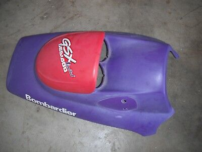 98 1998 Seadoo GSX Limited Upper Hood Storage Cover 269500485 269500316 O 9999
