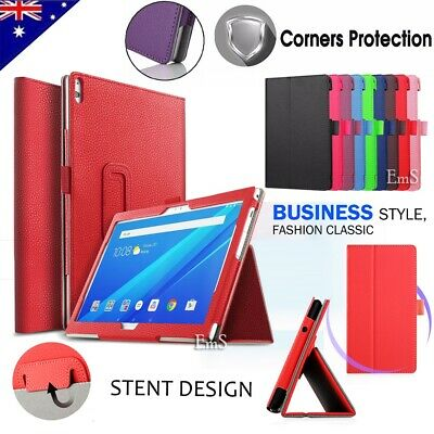 AU11.49 • Buy For Lenovo Tab E10 M10 P10 10.1  Tablet Leather Flip Folding Stand Case Cover