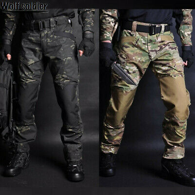 $46.54 • Buy Mens Military Pants Army Combat Tactical Cargo Trousers Hiking Casual Camouflage