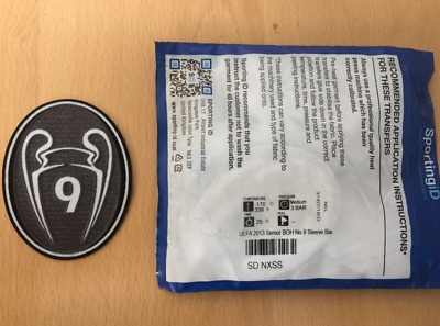 $19.50 • Buy Sporting ID Authentic Official Adidas Real Madrid BOH 9 Patch Badge 2013/14