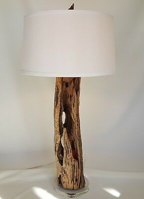 £452.41 • Buy Driftwood 3-way Table Lamp  Functional Art  Hand Crafted Unique One Of A Kind Pc