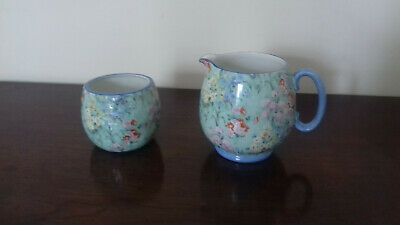 Art Deco Shelley Melody Jug And Sugar Bowl • 29.99£