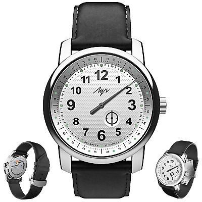 £247.16 • Buy PREMIUM One Hand Luch Mechanical Automatic Wound Wristwatch. White. 77490579