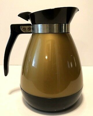 AU27.85 • Buy Vintage Gold 44 Oz Thermo-Serv Insulated Beverage Server Carafe Coffee Pitcher
