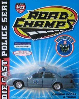 $20 • Buy Road Champs POLICE Series Maine STATE Patrol Car  Crown Victoria 1:43