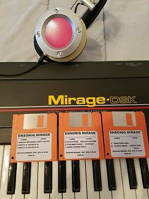$60 • Buy Ensoniq Mirage New Disk Set #2 Mirage/eps/eps 16+/ Complete Set
