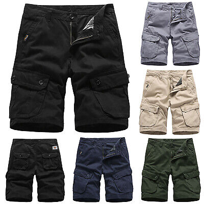 6eef299d0c Mens Army Tactical Cargo Shorts Outdoor Work Pockets Casual Shorts Half  Pants • 16.90$