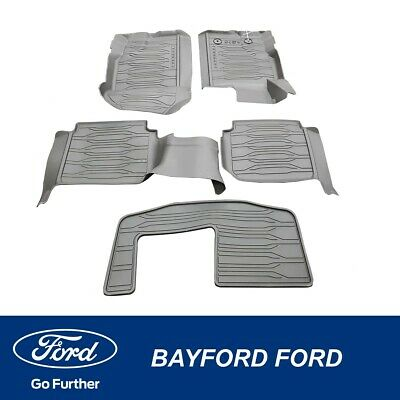 AU164.95 • Buy Genuine Ford Everest Ua All Weather Rubber Mats 5 Piece Kit