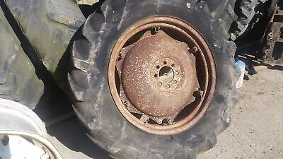 Massey Ferguson 135 Rear Wheel And Tyre 12.4/11-28. 1Please Check By The Photos • 117£