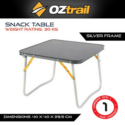 AU28.59 • Buy Oztrail Snack Table With Carry Bag Outdoor Camping Portable Touring Caravan