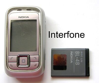 Nokia 6111 Slide Mobile Phone-Locked To Asda UK-Excellent Condition • 17.99£