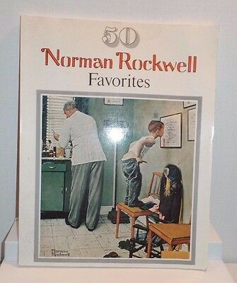 $ CDN12.96 • Buy 50 Norman Rockwell Favorites 12 X 15 Poster-size Prints Soft Cover Book 1977